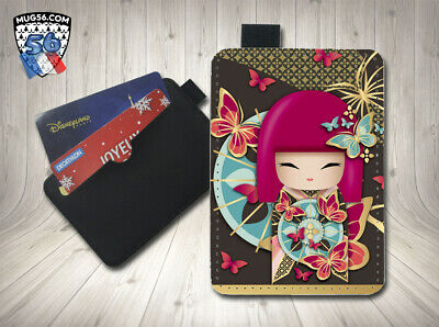 petit porte cartes card holder - asiatique asian japon 005 doll kimmi