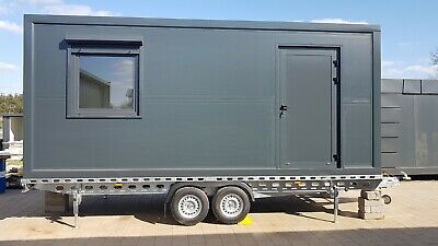 Tiny House 6 x 2.5m, Mobile Home, Wc, Shower