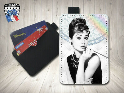 petit porte cartes card holder - audrey hepburn 03