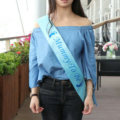 Baby Shower Sashes Durable High Quality Mummy To Be Ribbon for Baby Shower Party
