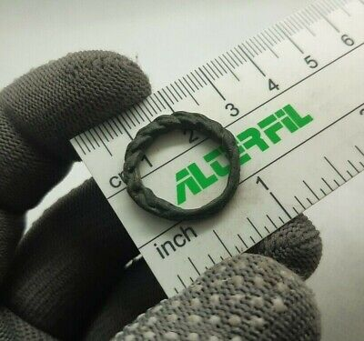Perfect Ancient Jewelry temporal  Bronze Ring Viking Kievan Rus 9-12 cen.AD #114