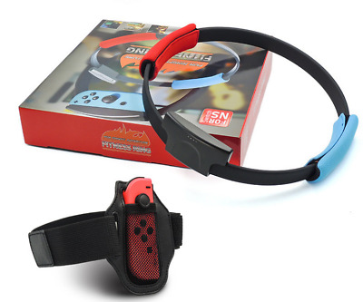 Ring Fit Adventure Nintendo Switch Fitness Healthy Exercise with Leg Strap New