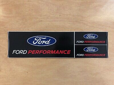 Ford Performance Sticker Sheet Decal Off Road Racing Tool Box