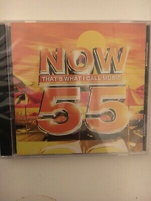 Now 55 Now Thats What I Call Music CD Brand New And Sealed