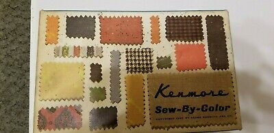 Vintage Kenmore Sew by Color Sewing Machine Attachments/Feet 60837