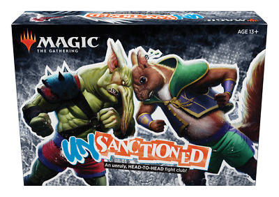 Unsanctioned NEW FACTORY SEALED - Magic the Gathering PRESALE MTG SHIPS 2/29