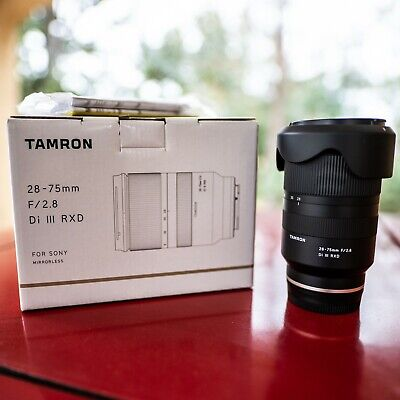 Tamron 28-75mm F/2.8 Di III RXD Lens for Sony E Mount (a036) - Excellent!