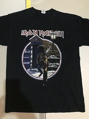 Iron Maiden L Vintage A Matter Of Life And Death World Tour X Mas Event T Shirt