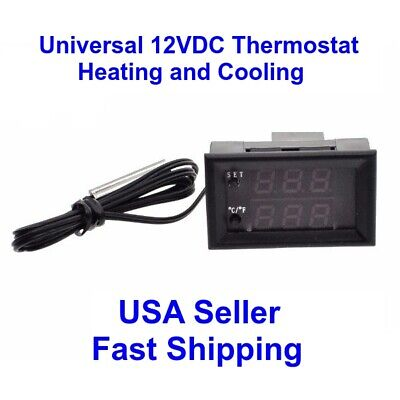 Automatic PC FAN 12VDC 1A On//Off 10/'C to 70/'C Thermostat Unassembled Kit