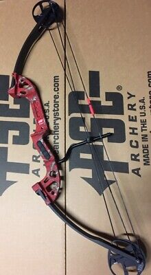 Pse Discovery Arco 30-40 #Mano Derecha Rojo con Fingerthings