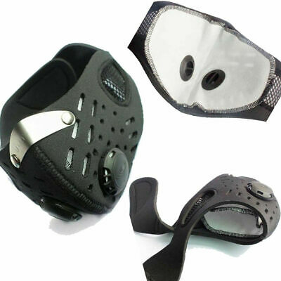 Anti-dust Mouth Mask PM2.5 Anti-fog Activated Anti-Pollution Breathable Sport
