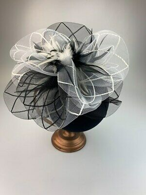 Ruffle Ladies Fascinator Ladies Fascinators Hatinators Race Day Hats Wedding