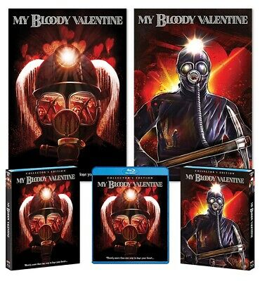 My Bloody Valentine Movie Posters Shout Factory Collector's Edition New 18x24
