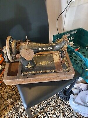 Vintage Singer Sewing Machine Ornament