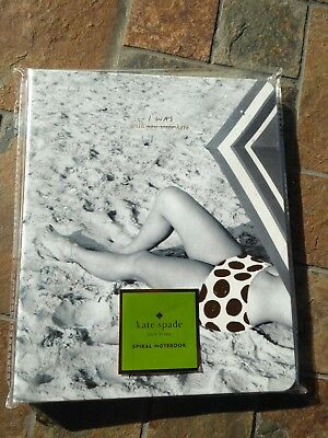 Kate Spade New York WISH I WAS HERE Concealed Spiral Notebook NIP