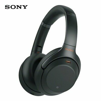 Sony WH-1000XM3 Wireless Noise Cancelling Headphones Headset Earphone Black