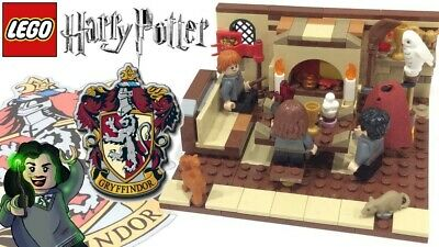 LEGO Harry Potter Gryffindor Common Room PDF INSTRUCTIONS!