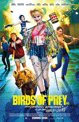 "Birds of Prey  ( 11"" x 17"" ) Movie Collector's Poster Print (T5) B2G1F"
