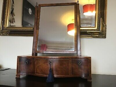 Antique vintage late 19th /early 20th century swing dressing room mirror