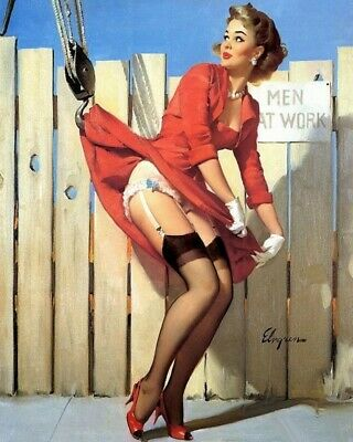 Gil Elvgren 8X10 Pin Up Girl Art Print 28012006739