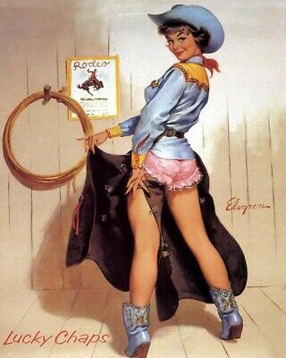 Gil Elvgren 8X10 Pin Up Girl Art Print 28012006681