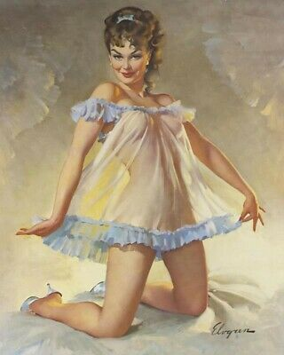 Gil Elvgren 8X10 Pin Up Girl Art Print 28012006663