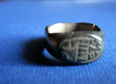 Ancient - Byzantine   Bronze    Finger    Ring