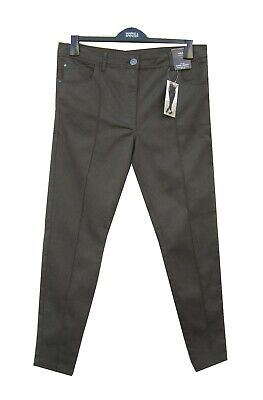 Marks & Spencer Khaki Jeans 16 Super Skinny Sculpt & Lift Low Rise with Stretch
