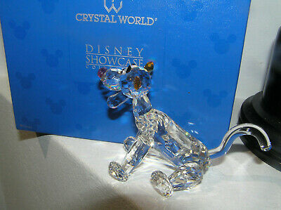 Rare Crystal World Disney Showcase Tigger From Winnie The Pooh Lted Ed Boxed