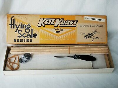 Keil Kraft Percival P.56 Provost Flying Scale Model Kit Aircraft Boxed