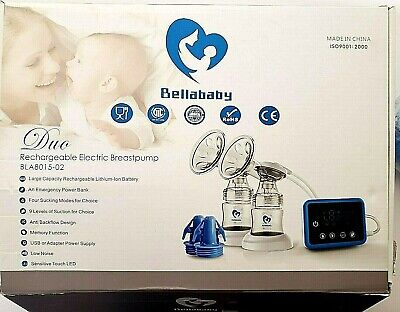 Bellababy Double Electric Breast Pump LED Display New See Notes for details.