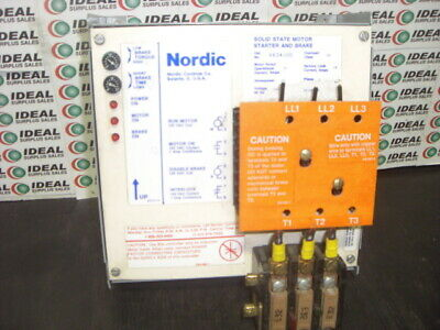 Nordic 2534100 Controller Used