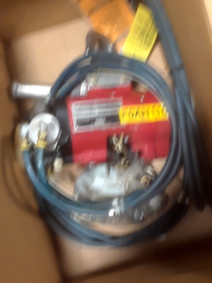 ARO 7718E-2C10-014 1/4 Ton Air Pneumatic Chain Hoist - Used