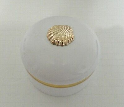 Estee Lauder White Linen Perfumed Body Powder Empty Box and Puff Collectible