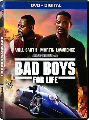 Bad Boys For Life - DVD/Digit Will Smith Martin Lawrence PRE ORDER for 04/21/20!