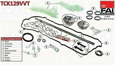 BMW 116i 118i TIMING CHAIN KIT 1598cc ENGINE CODE N13B16A SEPTEMBER 2011 />