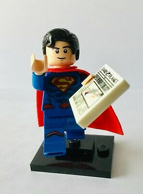 71026 LEGO MINIFIGURES SERIES DC SUPER HEROES SUPERMAN (Nuovo)