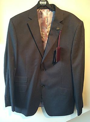 Mens Ted Baker Sterling Endurance Suit and Waist Coat 42 R 32 RRP £475