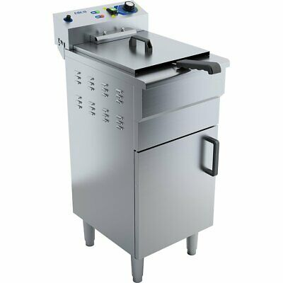 Commercial Fryer Single Electric 16 litre 3kW Free standing