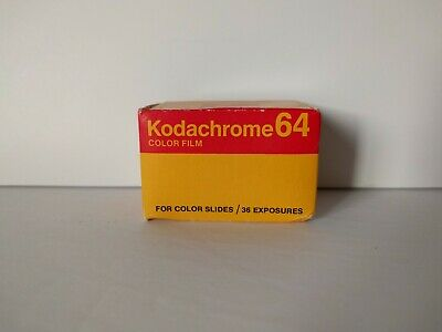 Kodak Kodachrome 25 KM & 64 35mm Color Slide Film 36 Exposure - Vintage Expired