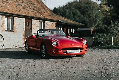 1997 TVR Chimaera 4.5 V8 Convertible Manual Red/Grey Leather Classic