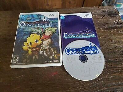 Final Fantasy Fables Chocobos Dungeon Nintendo Wii Complete In Box CIB