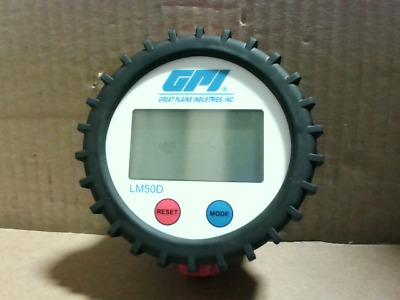 Great Plains LM50DB Lube Meter - New in Box