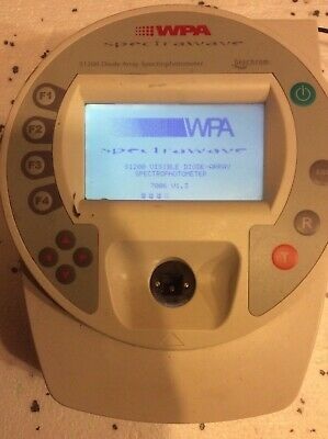 S1200 WPA Diode Array Spectrophotometer