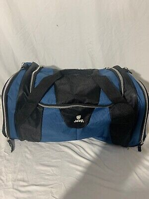 Jeep Duffle Bag Blue And Black