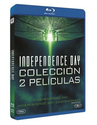 Pack - Independence Day + Independence Day : Contraataque  - BLURAY  BLU RAY
