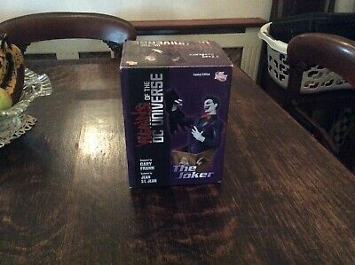 Villains Of The Dc Universe Gary Frank Joker  Dc  Direct  Bust  Limited Edition