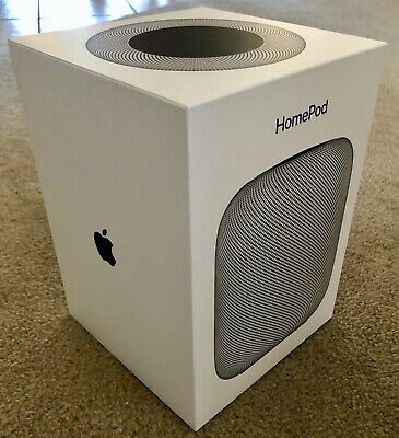 Apple HomePod Portable Smart Speaker Space Gray MQHW2LL/A Black with Box