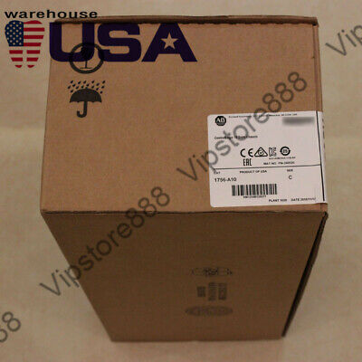 2018/2019 US STOCK Allen-Bradley ControlLogix 10 Slots Chassis 1756-A10+Warranty