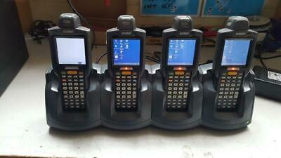 SYMBOL MC3090-RG0PBBG00WW Wireless Laser Barcode Scanner (Lot of 4 units)
